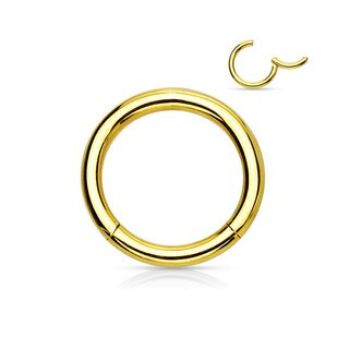 Segmentring Clicker 1.0 x 6 mm | Gold |