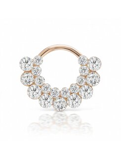 Maria Tash 6,5mm Invisible Diamond Apsara Clicker