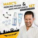 Marcs Piercing Pflege Set & Anti Wildfleisch Kit Rook &...