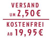 Versandkostenfrei ab 2,50EUR